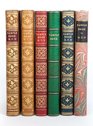 Bookbinding with Shepherds/Sangorski & Sutcliffe